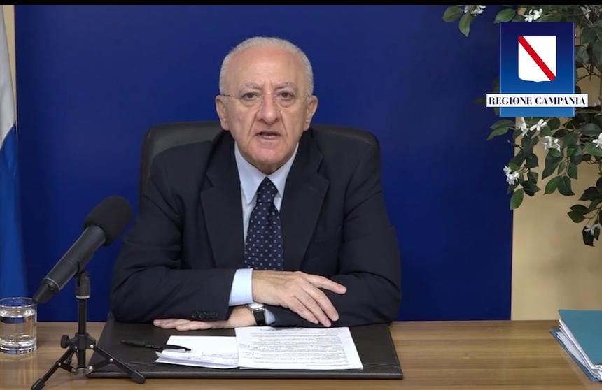 Vincenzo De Luca conferenza